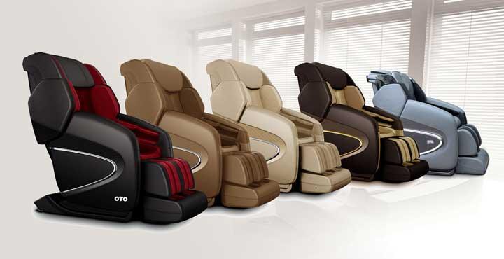 Массажное кресло OTO Chiro II CR-01 Black Rose купить в Интернет-магазине Relaxa