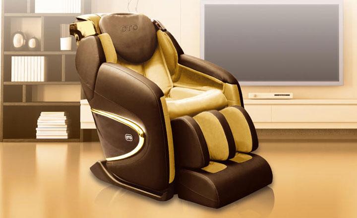 Инновация Корректирующего массажа спины в кресле OTO CHIRO II