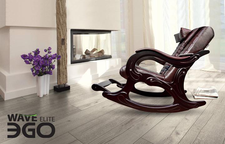Массажное кресло-качалка EGO WAVE EG-2001 Бордо в комплектации ELITE и PREMIUM купить в Интернет-магазине Relaxa