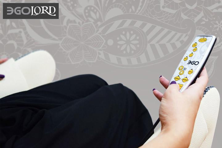 Массажное кресло EGO Lord EG3002 Lux Карамель купить в Интернет-магазине Relaxa