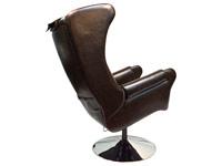 Откидывание спинки кресла для массажа