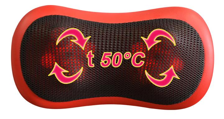 Беспроводная массажная подушка HANSUN HS619M EZ-STYLE 3D Wireless в магазине megamassager.ru
