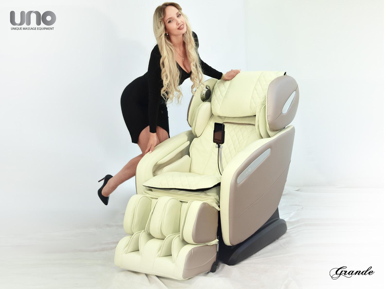 Массажное кресло UNO GRANDE Европейский дизайн