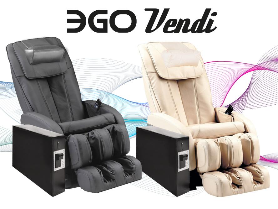 Массажное кресло с купюроприемником EGO Vendi купить в Интернет-магазине Relaxa